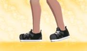 Zapatillas de Deporte Negro F.png