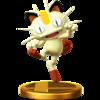 Trofeo de Meowth SSB4 (Wii U).png