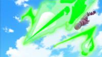 Drapion de Celosia/Caléndula usando misil aguja/pin misil.