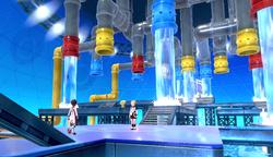 Interior del Estadio Amura en los videojuegos
