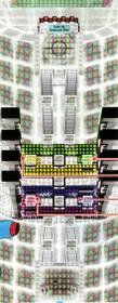 Interior del Gimnasio de Fractal en los videojuegos