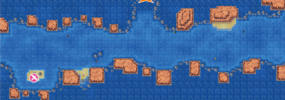 Mapa de la ruta 108