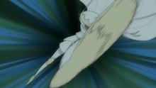 Pheromosa usando Patada salto alta
