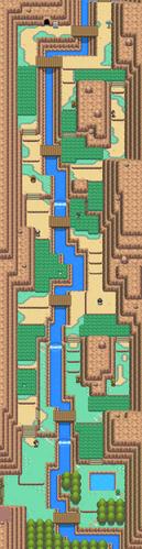 Mapa de la ruta 45