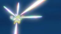 Necrozma usando láser prisma.
