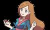 Jovencita con kimono