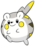 Togedemaru (dream world) 2.png