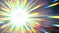 Slurpuff de Sawyer/Sabino usando brillo mágico.