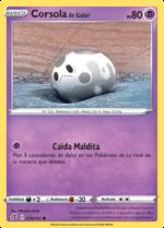 Corsola de Galar (Choque Rebelde TCG).png