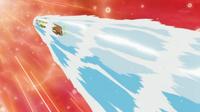 Buizel usando acua jet.