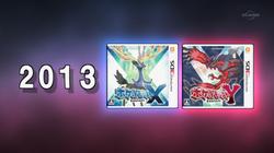 Portada de Pokémon X e Y en el especial.