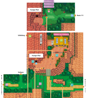Mapa de la ruta 112