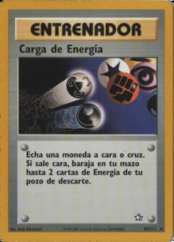 Carta Carga de Energía