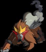 Artwork de la distribución de Entei del Festival de Pokémon legendarios.png
