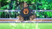 EP698 Roggenrola de Ash saliendo de su Poké Ball.jpg