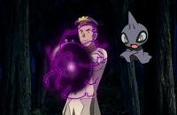 Shuppet usando bola sombra.