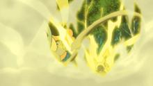 Pikachu de Scottie usando rayo.