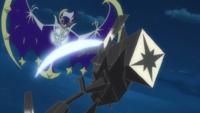 Necrozma usando garra metal.