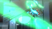 SME04 Mega-Charizard X usando garra dragón.png