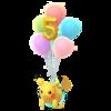 Pikachu 5 aniversario
