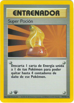 Carta Super Poción