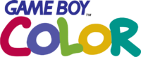 Logo de la consola Game Boy Color.
