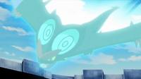 Noivern de Ash usando acróbata.