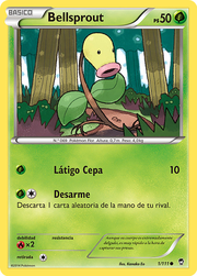 Bellsprout (Puños Furiosos TCG).png