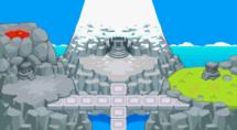 Isla Legendaria en Equipo de Rescate Rojo y Azul