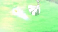 Pikachu de Ash usando ataque rápido en un flashback del EP832.
