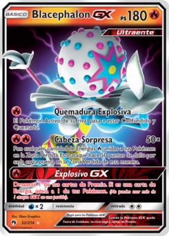 Carta de Blacephalon-
