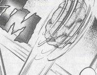 Golem de Giovanni usando Desenrollar.