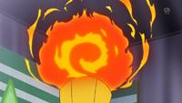 Puño fuego del Magmortar de Loco Magma/Mad Magma.