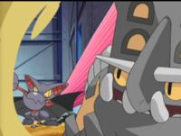 Gliscor usando ataque arena.