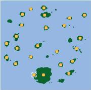 Localización de Isla Trovita/Trobita.
