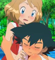 EP918 Ash abrazando a Serena.png
