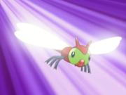 Yanma usando ataque ala.