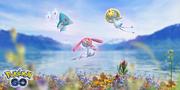 Uxie, Mesprit y Azelf Pokémon GO.png