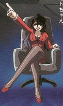 Madame Boss, fundadora de la organización.