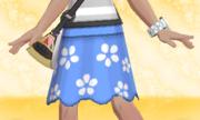 Falda de Flores Azul.png