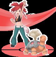 Candela y Torkoal Pokémon Masters.png