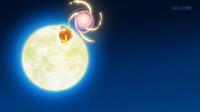 Flabébé de Shauna/Xana usando fuerza lunar.