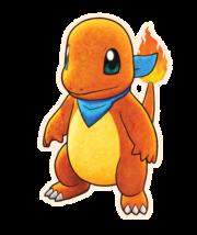 Charmander Pokémon Mundo misterioso equipo de rescate DX.png